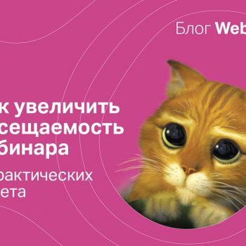 Как увеличить посещаемость вебинара